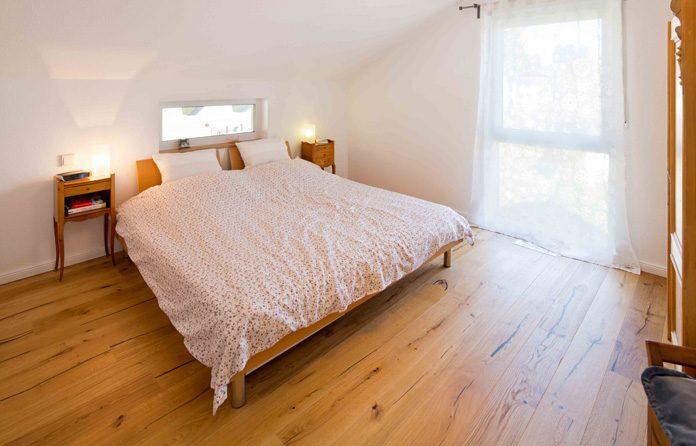 Parkett im Schlafzimmer - eine gemühtliche alternativer Fußboden