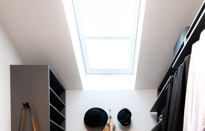 Dachfenster sorgen für viel Tageslicht. (Foto: FingerHaus)