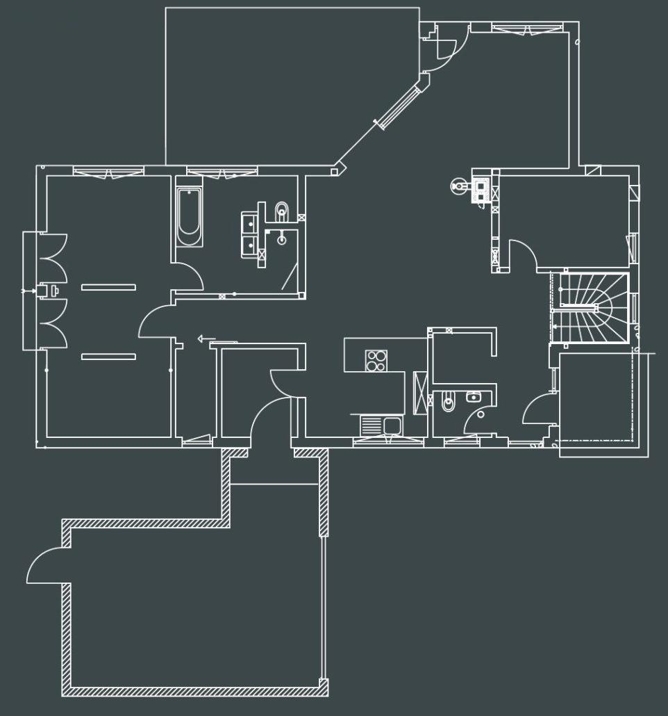 Klug vorgeplant fürs Alter: Das Erdgeschoss des MEDLEY wurde erweitert und ermöglicht so barrierefreies Wohnen. (Foto: FingerHaus)