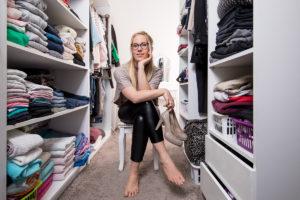 Ein wahr gewordener Traum: der begehbare Kleiderschrank. (Foto: FingerHaus)