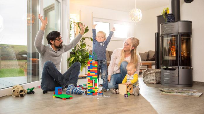Bauherren-Interview mit Familie Nusser: »So viel Platz fürs Wir!« (Foto: FingerHaus)