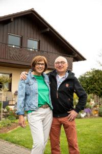 Warum haben Sie damals gebaut? Werner Baumann: »Wir brauchten unseren eigenen Lebensraum als Familie.« (Foto: FingerHaus)