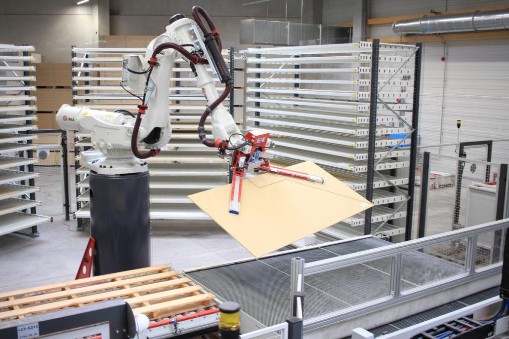Die Produktion 4.0 bringt zukunftsweisende Technik und optimierte Prozesse für allerhöchste Präzision in die Fertigungshallen. (Foto: FingerHaus)