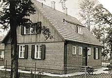 Das erste Finger-Haus wird 1948 gebaut. (Foto: FingerHaus)