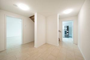 Bilden Haus und Keller eine Einheit mit innenliegendem Treppenhaus muss der Keller bei der energetischen Betrachtung berücksichtigt werden. (Foto: FingerHaus)