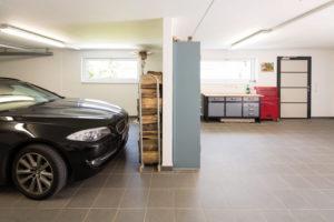 Der Keller kann auch als Garage genutzt werden. (Foto: FingerHaus)