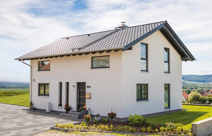 Immer mehr Neubauten in Deutschland werden in Fertigbauweise gebaut. (Foto: FingerHaus)