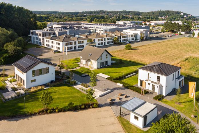 FingerHaus-Hauptsitz in Frankenberg/Eder (Foto: FingerHaus)