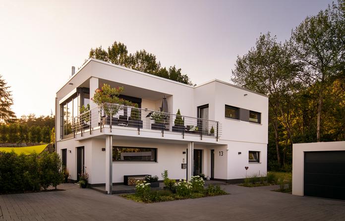 Die individuelle Hausplanung verspricht langfristigen Wohnkomfort im eigenen Zuhause. (Foto: FingerHaus)