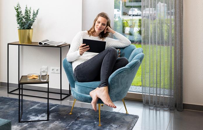 Jedes dritte Fertighaus wird als Smart Home mit intelligenter Haustechnik geplant. (Foto: FingerHaus)